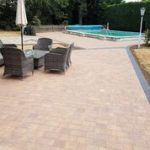 Block Paving Pool Patio